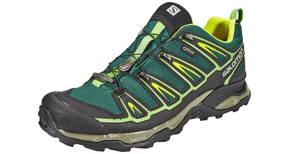 Salomon X Ultra 2 GTX Hiking Shoes Men green black/black/gecko green